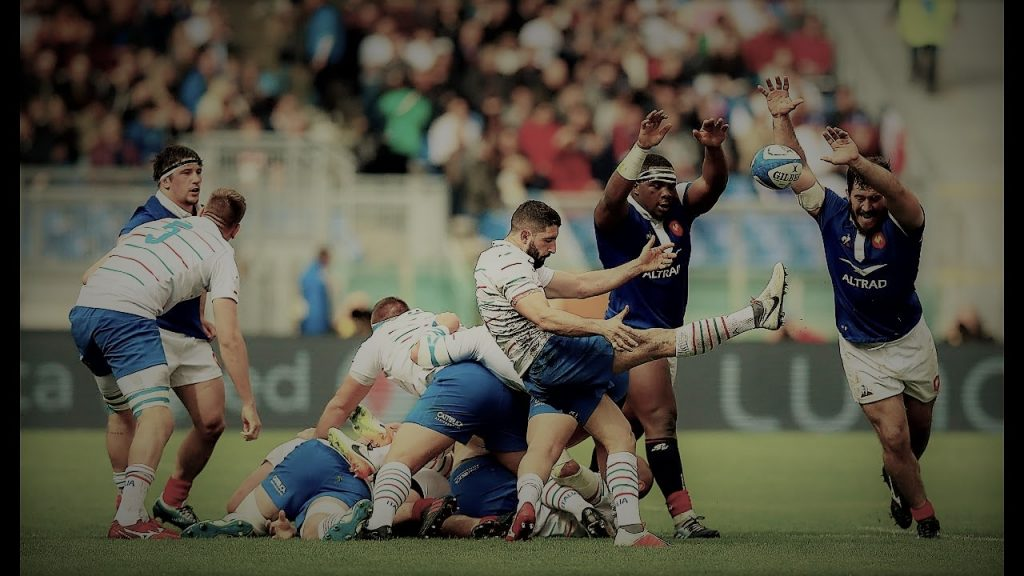 Italy vs France Rugby Six Nations 2021